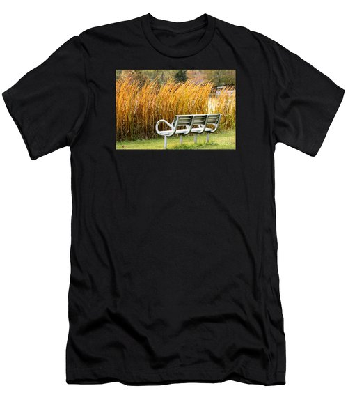 Blocked By The Bush Men's T-Shirt (Athletic Fit)
