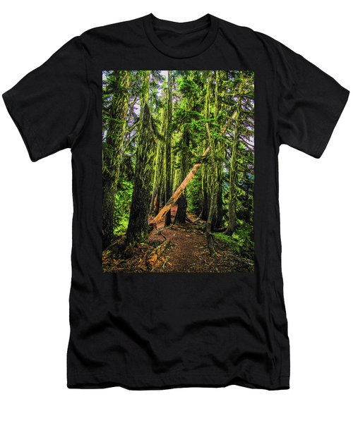 Blocked Trail Men's T-Shirt (Athletic Fit)