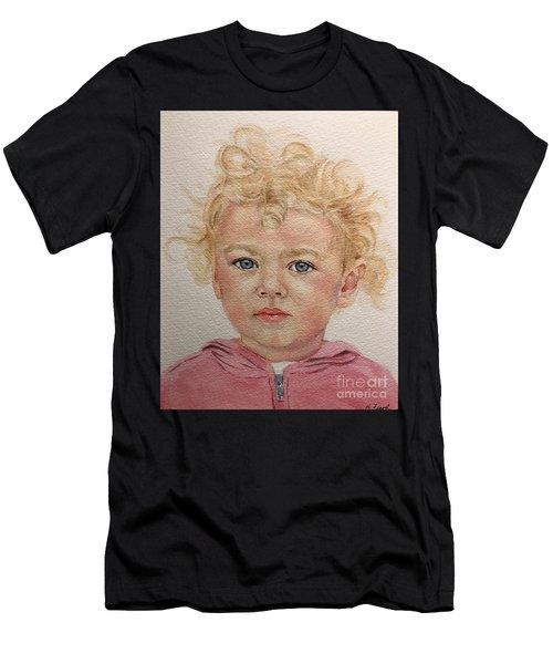 Blonde Girl Men's T-Shirt (Athletic Fit)