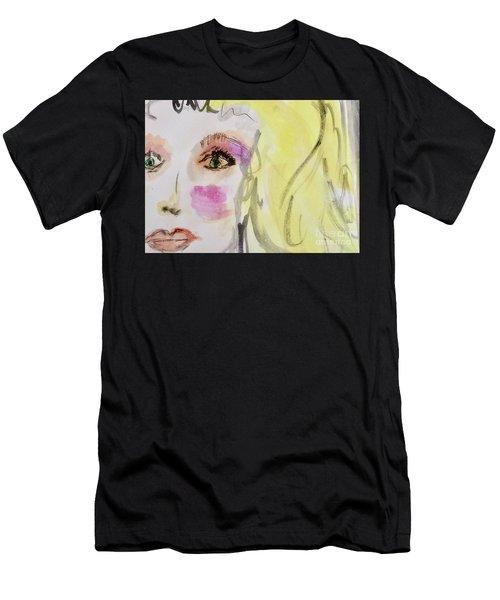 Blonde Men's T-Shirt (Athletic Fit)