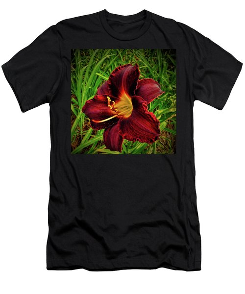 Blood Lily  Men's T-Shirt (Athletic Fit)