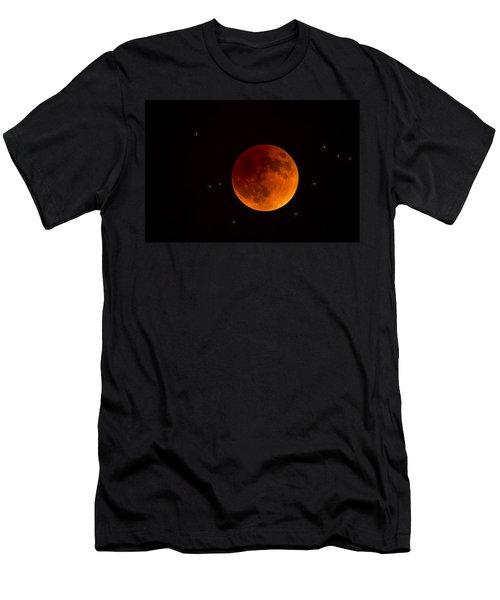 Blood Moon Lunar Eclipse 2015 Men's T-Shirt (Athletic Fit)