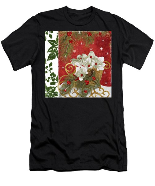Blooming Christmas II Men's T-Shirt (Athletic Fit)