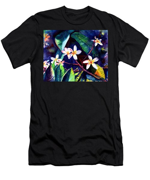 Blooming Plumeria Men's T-Shirt (Athletic Fit)