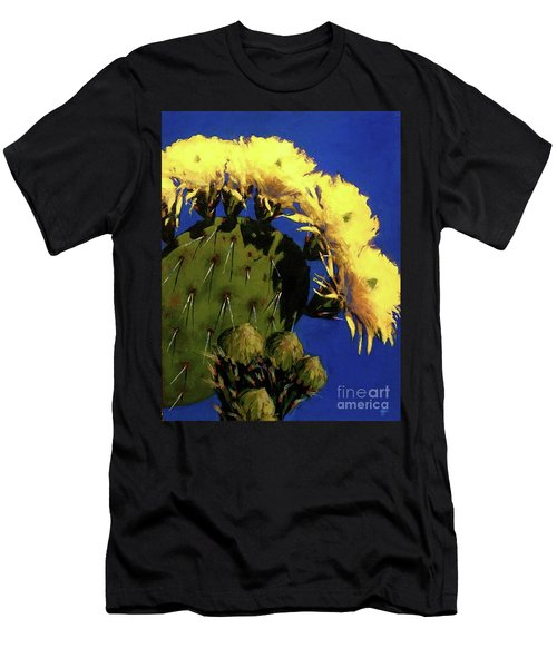 Blooming Prickly Pear Men's T-Shirt (Athletic Fit)