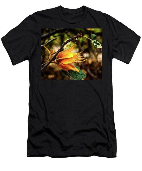 Blossom Of Orange Men's T-Shirt (Athletic Fit)