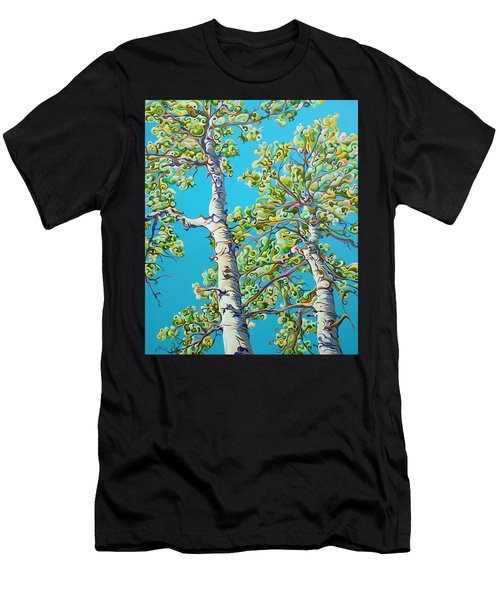Blossoming Creativitree Men's T-Shirt (Athletic Fit)