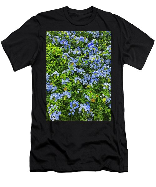 Blossoms Of Phlox Flowers Men's T-Shirt (Athletic Fit)