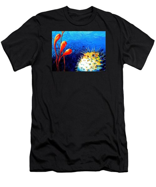 Blow Fish Men's T-Shirt (Athletic Fit)