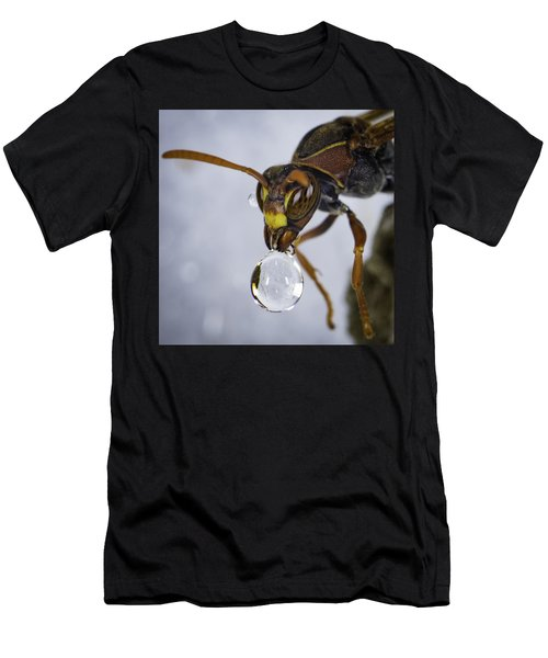 Men's T-Shirt (Athletic Fit) featuring the photograph Blowing Bubbles by Chris Cousins