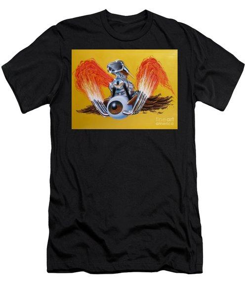 Blown Eyeball Men's T-Shirt (Athletic Fit)