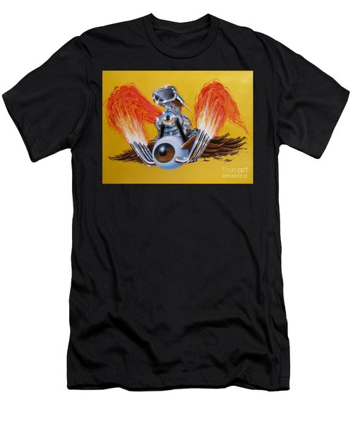 Blown Eyeball Men's T-Shirt (Athletic Fit)
