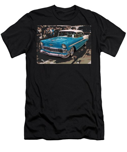Men's T-Shirt (Slim Fit) featuring the photograph Blue '56 by Victor Montgomery