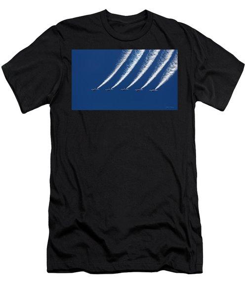 Blue Angels Formation Men's T-Shirt (Athletic Fit)