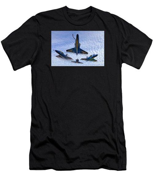 Blue Angels V.2 Men's T-Shirt (Athletic Fit)