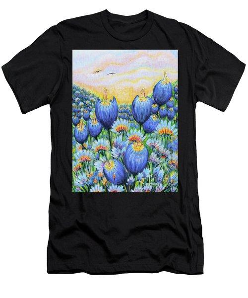 Blue Belles Men's T-Shirt (Athletic Fit)