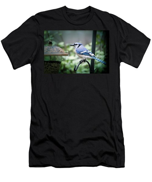 Blue Bird Of Happiness Men's T-Shirt (Athletic Fit)