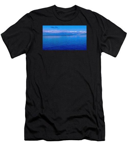 Blue Blue Sea Men's T-Shirt (Athletic Fit)