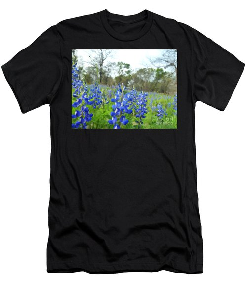 Blue Bonnet Explosion II Men's T-Shirt (Athletic Fit)