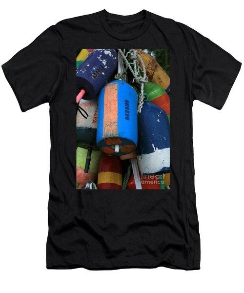 Blue Buoys Men's T-Shirt (Athletic Fit)