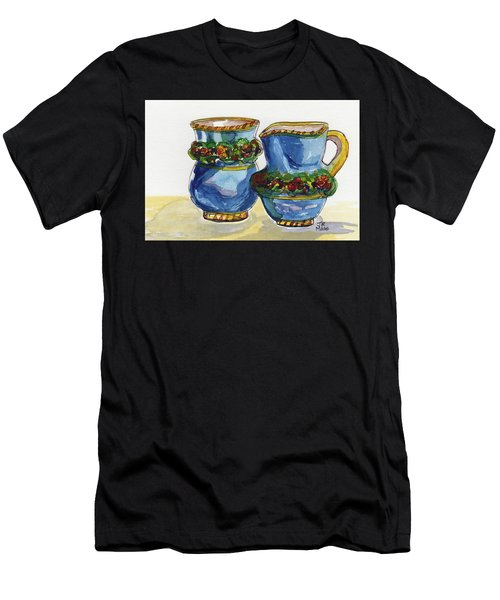 Blue Cream And Sugar Men's T-Shirt (Athletic Fit)