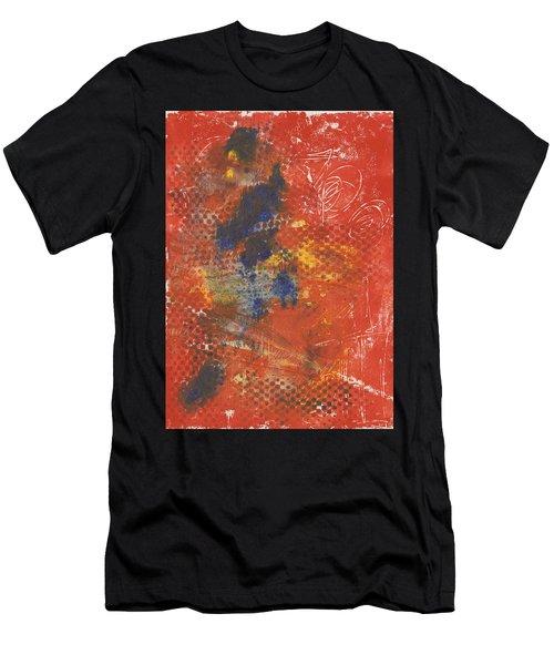Blue Dancer Men's T-Shirt (Athletic Fit)