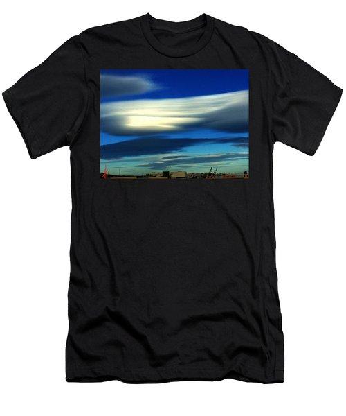 Blue Day Spain  Men's T-Shirt (Athletic Fit)