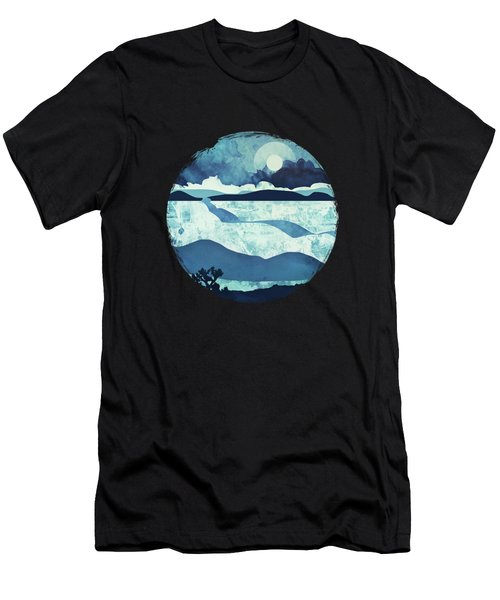 Blue Desert Men's T-Shirt (Athletic Fit)