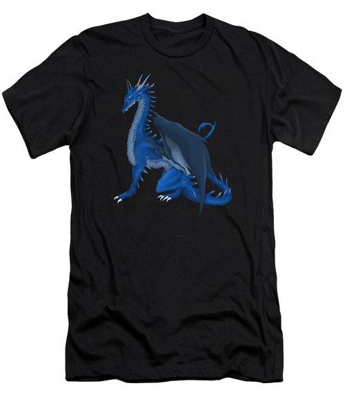 Blue Dragon Men's T-Shirt (Athletic Fit)