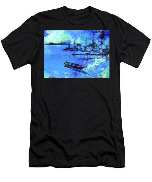 Blue Dream 2 Men's T-Shirt (Athletic Fit)