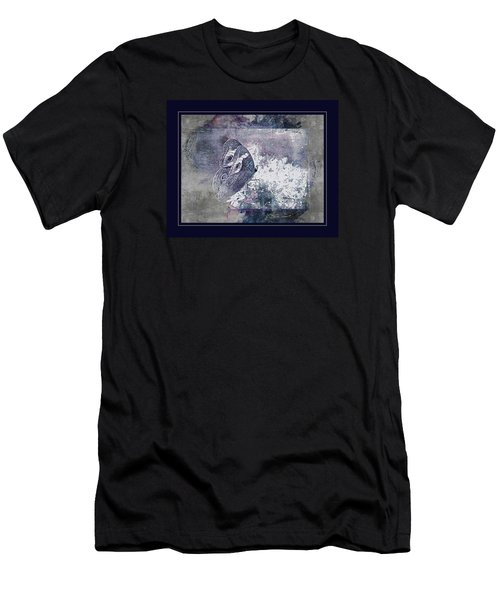 Blue Dreams And Butterflies Men's T-Shirt (Slim Fit) by Karen McKenzie McAdoo