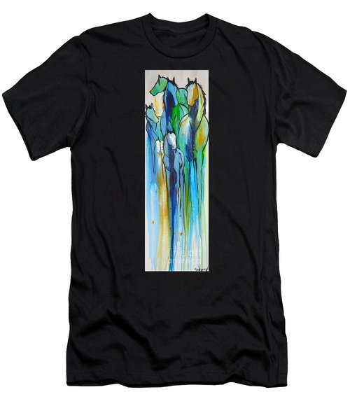 Blue Drip 2 Men's T-Shirt (Athletic Fit)