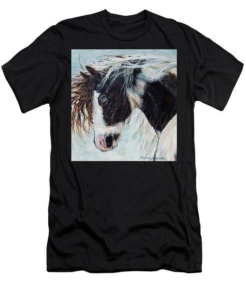 Blue Eyed Storm Men's T-Shirt (Athletic Fit)