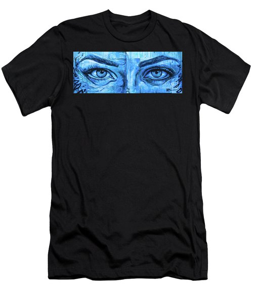 Blue Eyes Men's T-Shirt (Athletic Fit)