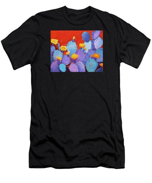 Blue Flame Companion 1 Men's T-Shirt (Athletic Fit)