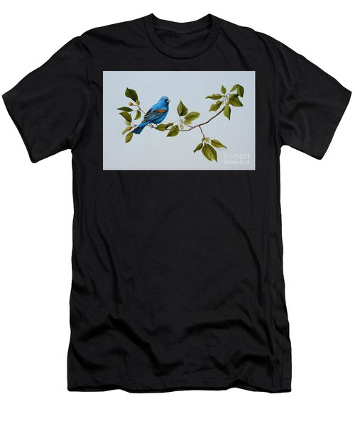 Blue Grosbeak Men's T-Shirt (Athletic Fit)