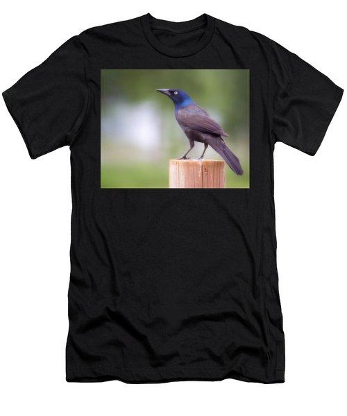 Blue Head Men's T-Shirt (Athletic Fit)