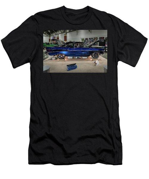 Men's T-Shirt (Slim Fit) featuring the photograph Blue Heaven by Randy Scherkenbach