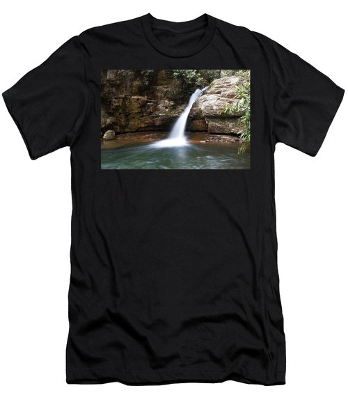 Men's T-Shirt (Slim Fit) featuring the photograph Blue Hole In Spring #1 by Jeff Severson