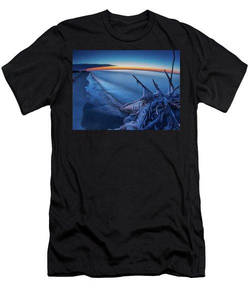 Blue Hour Fisheye Men's T-Shirt (Athletic Fit)