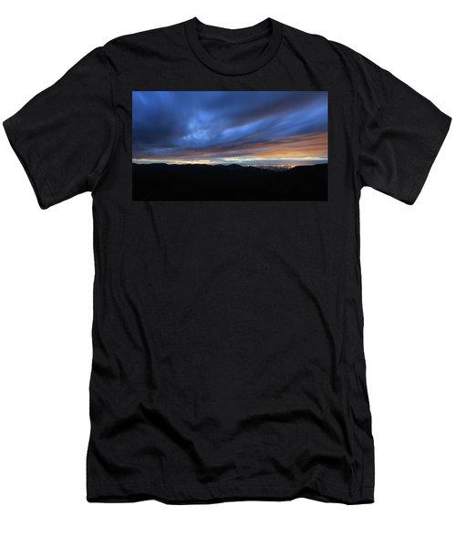 Blue Hour In Shenandoah Men's T-Shirt (Athletic Fit)