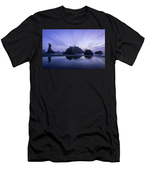 Blue Hour Reflections Men's T-Shirt (Athletic Fit)