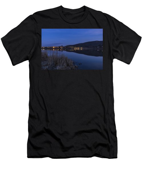Blue Hour Retreat Meadows Men's T-Shirt (Athletic Fit)