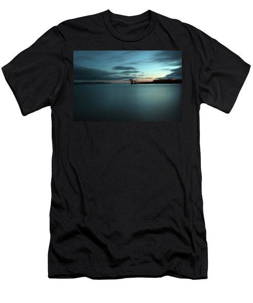 Blue Hour Salthill Men's T-Shirt (Athletic Fit)