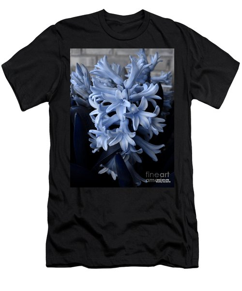 Blue Hyacinth Men's T-Shirt (Athletic Fit)