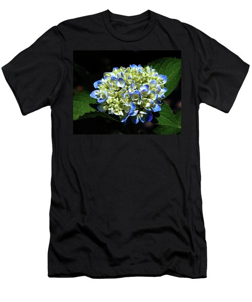 Blue Hydrangea Onstage 2620 H_2 Men's T-Shirt (Athletic Fit)