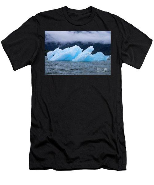 Blue Iceberg Men's T-Shirt (Athletic Fit)