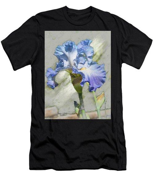 Blue Iris 2 Men's T-Shirt (Athletic Fit)