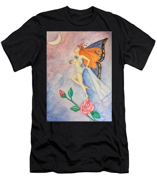 Blue Moon Dancer Men's T-Shirt (Athletic Fit)