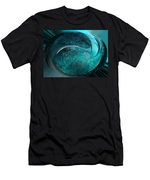 Blue Moon Men's T-Shirt (Slim Fit) by Kevin Caudill